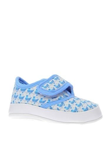 Mammaramma Cırtlı Günlük Bebek Ayakkabı Mavi